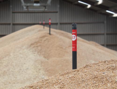 Javelot stockage à plat grain Flat