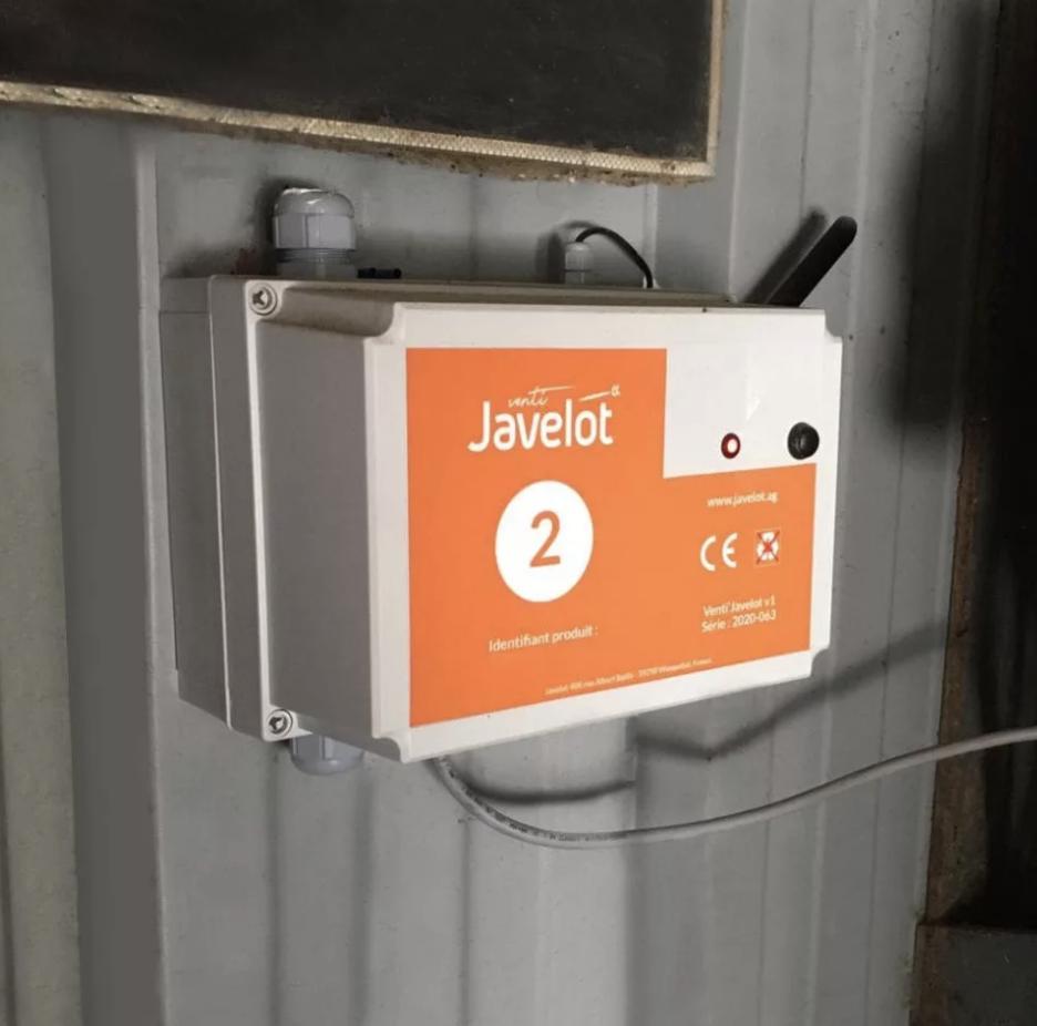 Venti Javelot boîtier ventilation