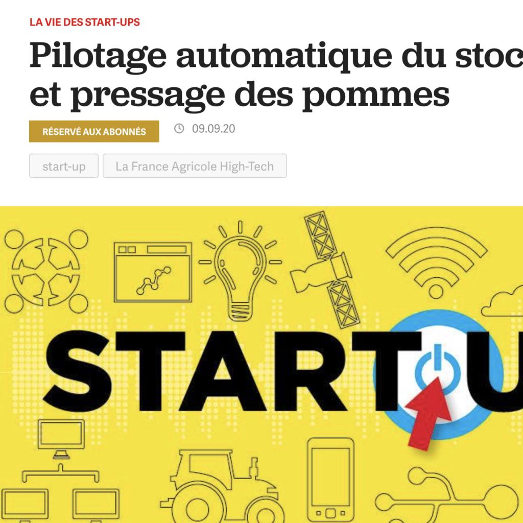 Presse start up